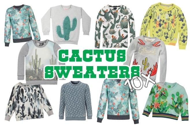 Cactus sweaters