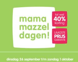 Mama Mazzeldagen september 2017