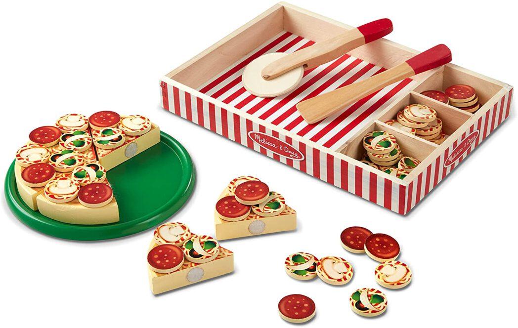 Melissa & Doug pizzaset