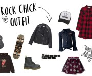 Rock chick outfit inspiratie