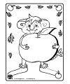 Apple Crafts preschool and kindergarten activities