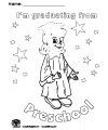 Graduation preschool and kindergarten activities