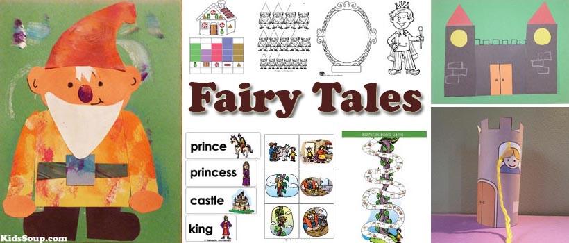 Fairy Tales Preschool Activities Crafts And Printables Kidssoup