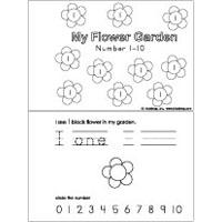 Preschool Flowers Activities, Crafts, and Printables