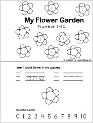 Flower Garden Crafts, Activities, Lessons, Games for
