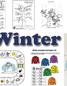 Winter activities crafts and games for preschool kindergarten also lessons printables rh kidssoup