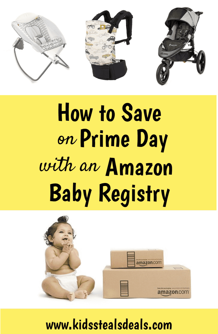 Expecting? Even if it's not your first, you need anAmazon Baby Registry. Prime Day's coming and you can save even more! Get yours now! Join our FB Deals Group Kids Steals & Deals for updates on the best Prime Day Deals #PrimeDay2018 #PrimeDay #Deals #BestPrimeDayDeals #Amazon #SaveMoney #PrimeDayKids #AmazonPrimeDay #AmazonPrimeDay2018 #AmazonPrimeBabyDeals #BestAmazonPrimeDeals #BestBabyDeals #HowtoSaveonBaby #AmazonBabyRegistry #AmazonFamily #CarSeatDeals #DiaperDeals #HowToSaveonPrimeDay