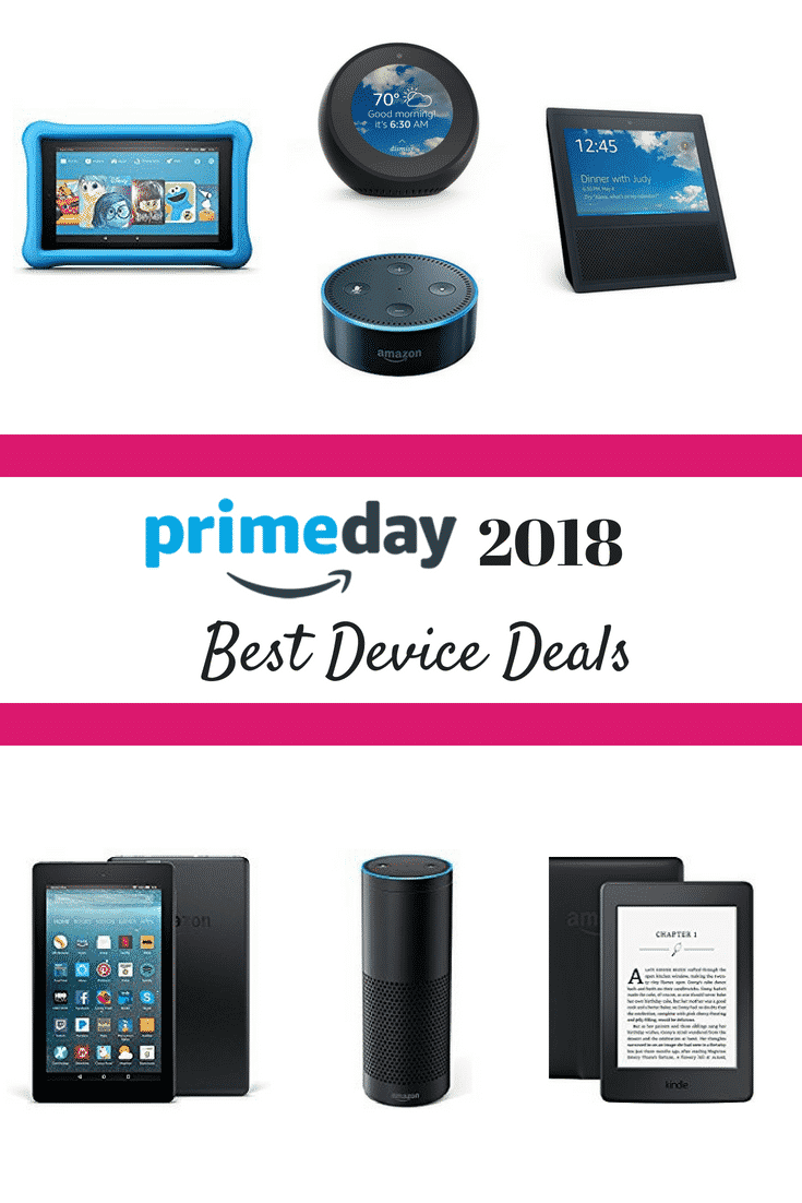 Looking for the best Prime Day Deals on Amazon devices? Check out the latest pricing AND our quick guide to help you decide what's right for you! #PrimeDay #PrimeDayDeals #Amazon #AmazonPrime #Whattobuyonamazon #whattobuyonprimeday #kindledeals #kindlefiredeals #echodeals