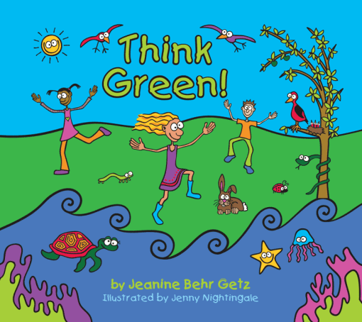 Think Green! illustrated environmental children's book
