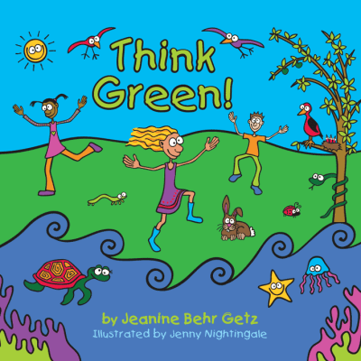 Think Green! illustrated environmental children's book