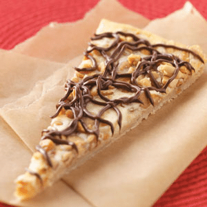 peanut butter cheesecake pizza