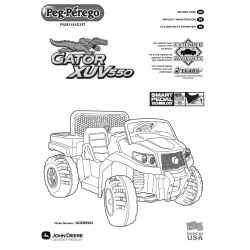 Peg Perego John Deere Gator XUV User Manual FIUS1101G157