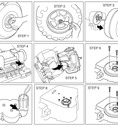 how to change the gearbox in your peg perego gaucho grande how to change the gearbox in your peg perego gaucho grande peg perego gaucho jeep [ 2147 x 1721 Pixel ]