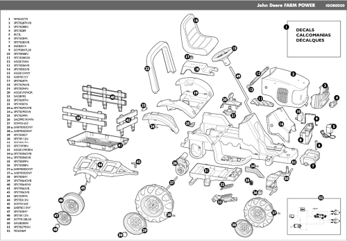 small resolution of razor crazy cart wiring diagram wiring libraryjohn deere farm power igor0050 parts