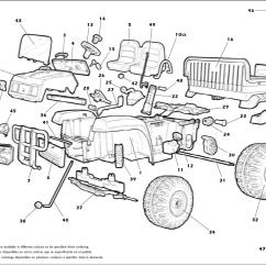 Peg Perego Gator Xuv 550 Wiring Diagram 2010 Toyota Corolla Parts And Electrical Schematic John Deere Revised Igod0004 Igod0033 Tires
