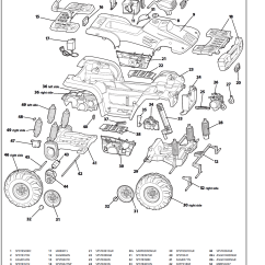Polaris Sportsman 90 Parts Diagram Nissan Xterra Speaker Wiring 700 Yellow Igod0027 Kidswheels