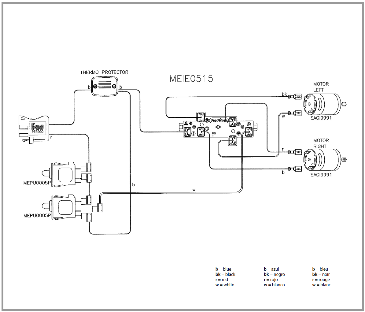 Polaris Electrical Diagrams
