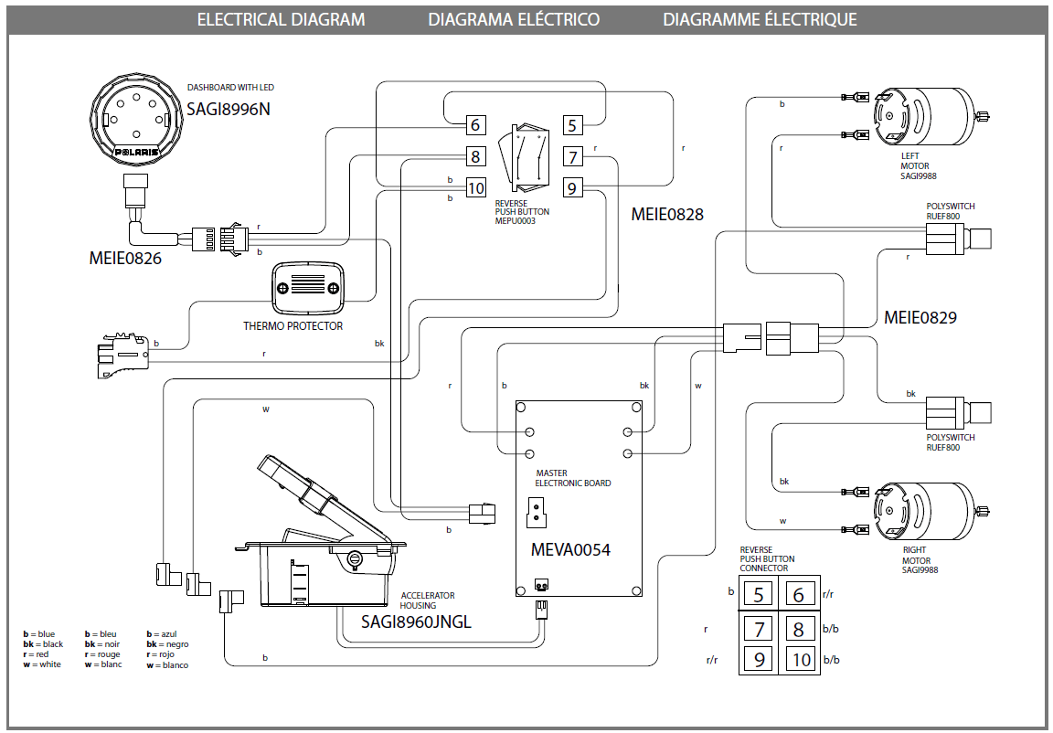 hight resolution of polaris ranger rzr red igod0511 parts kidswheelsigod0511 electric diagram