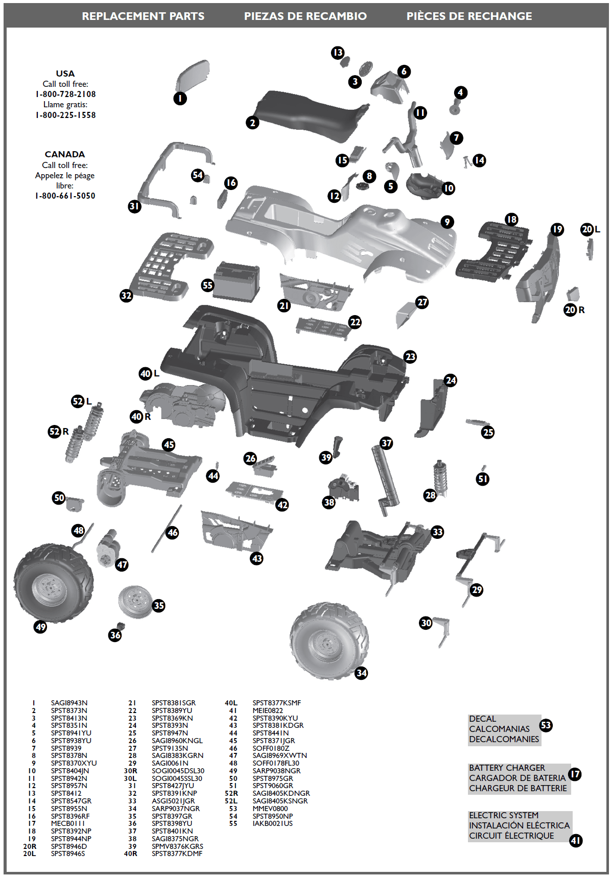 polaris sportsman 90 parts diagram black bear vitals xp850 igod0515 kidswheels