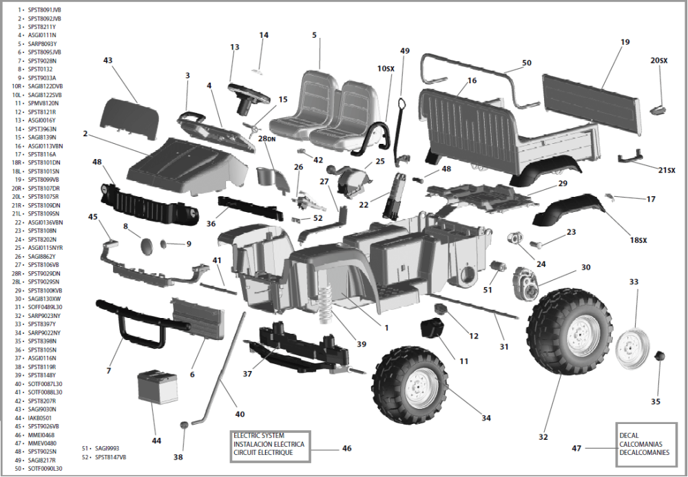 medium resolution of john deere gator hpx igod0055 igod0049 parts