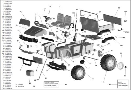 small resolution of john deere gator hpx igod0055 igod0049 parts