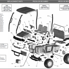 John Deere 4x2 Gator Wiring Diagram Ls1 Coil Pack Peg Perego Parts Free