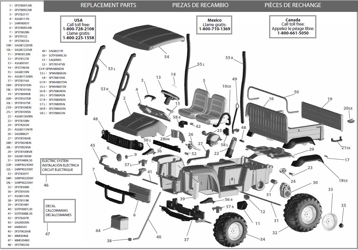 hight resolution of john deere gator fuse box diagram 2012 wiring libraryjohn deere gator 625i parts diagram electrical work