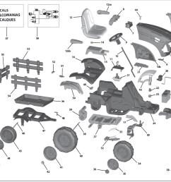 john deere ground force tractor igor0039 parts kidswheels rh kidswheels com john deere wiring harness diagram [ 1205 x 866 Pixel ]