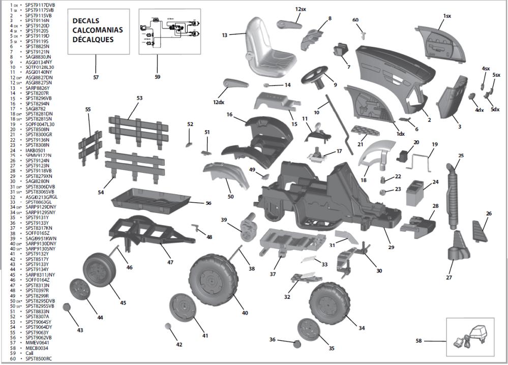 medium resolution of john deere ground force tractor igor0039 parts kidswheels rh kidswheels com john deere wiring harness diagram
