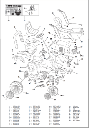 John deere power loader IGOR0012 Parts  KidsWheels