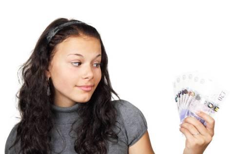 Teenager With Money - Money Management Skills