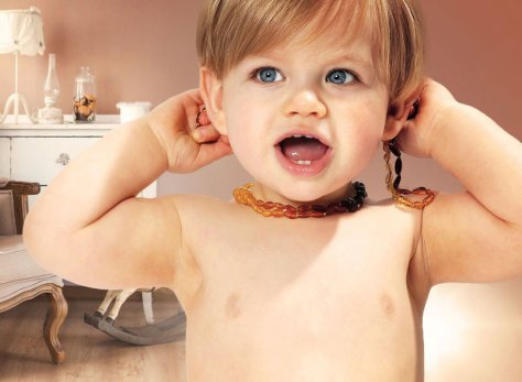 Baltic Amber Necklaces for Teething: The Natural Alternative