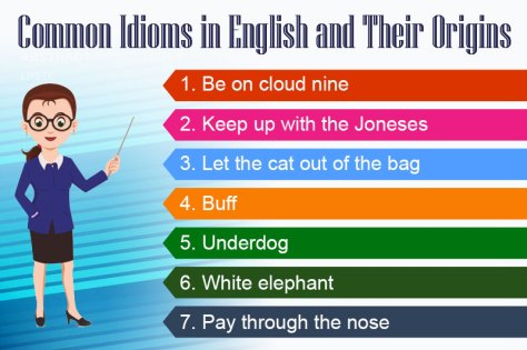 Common Idioms in English and Their Origins