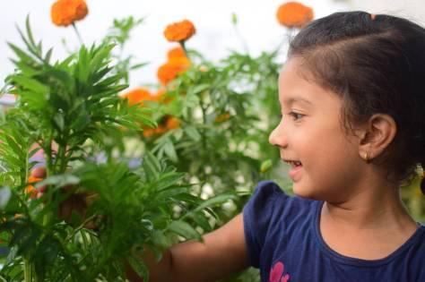 Gardening Child