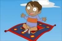 Ali and the magic carpet, Animated short stories for kids