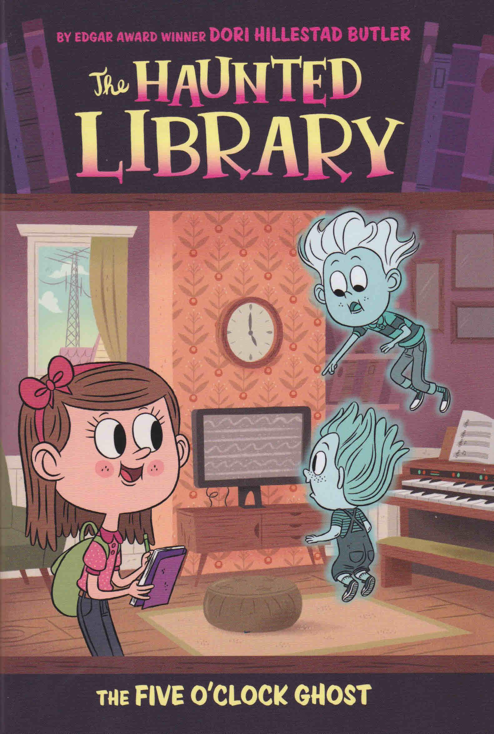 The Haunted Library  Dori Hillestad Butler