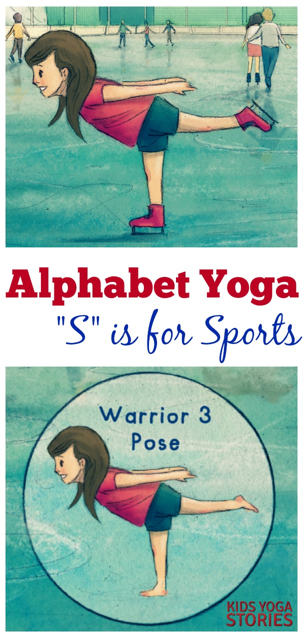 S is for Sports Yoga  Kids Yoga Stories  Yoga Books