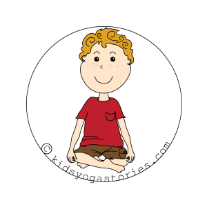 easy Pose kids yoga stories