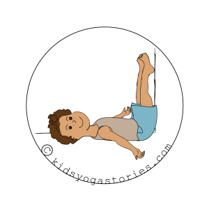 Legs Up the Wall Pose | Kids Yoga Stories