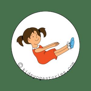 Boat Pose for Kids | Kids Yoga Stories