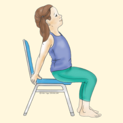 Yoga Chair Pose Chairs For Tall People 40 Kid Friendly Poses Kids Stories Camel Using A