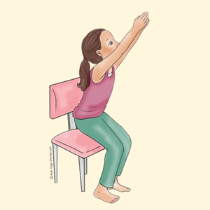 yoga chair pose ikea wooden dining table 4 chairs 40 kid friendly poses kids stories using a