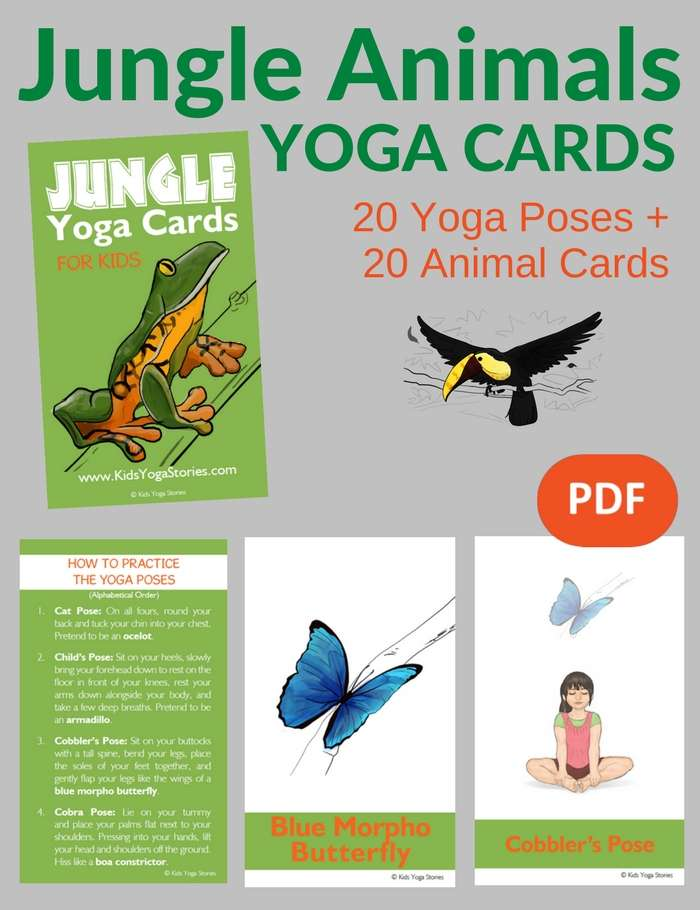 photograph regarding Printable Yoga Cards titled Cost-free Yoga Playing cards Pdf