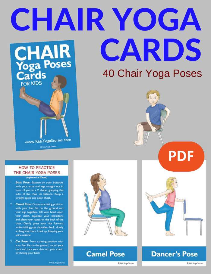 chair exercises for seniors pdf fabric office chairs yoga at your desk printable | design ideas