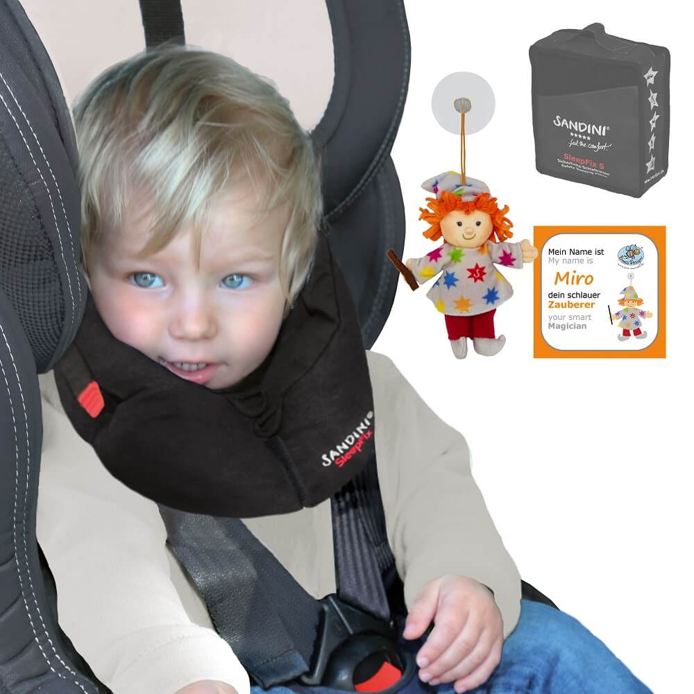 Baby and Toddler Car Seat Head Support  Stops your child