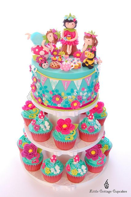 Fairy First Birthday Party Cake Ideas