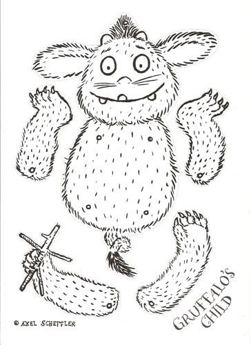 Gruffalo First Birthday Party Games and Activities