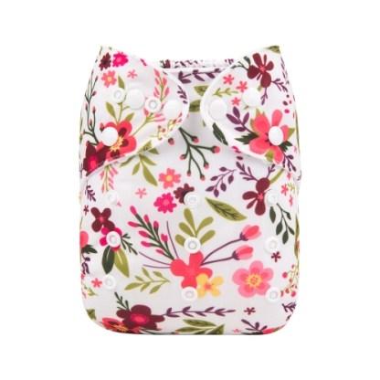 Reusable Cloth Pocket Nappy Blossom