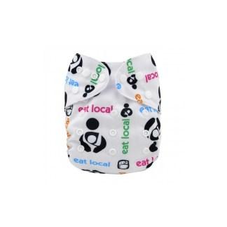 Reusable Cloth Pocket Nappy Eat Local