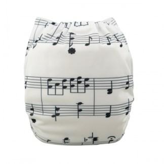 Reusable Cloth Pocket Nappy Notes Music